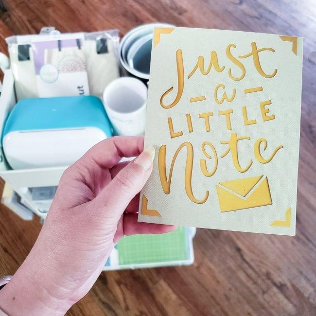 Cricut Joy Accessories - The Card Mat